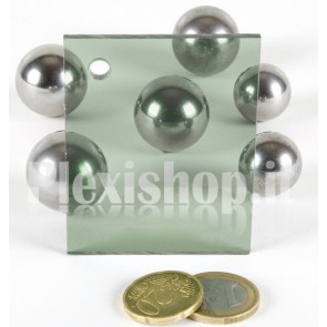 Green 2 ACRIDITE 229 Plexiglass