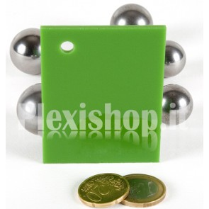 Green 7 ACRIDITE 294 Plexiglass