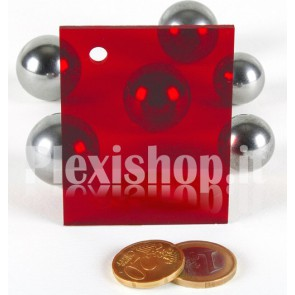 Red 1 ACRIDITE 320 Plexiglass