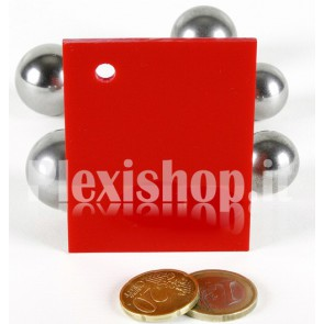 Red 4 ACRIDITE 365 Plexiglass