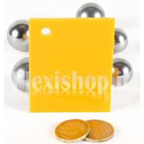 Yellow 3 ACRIDITE 742 Plexiglass