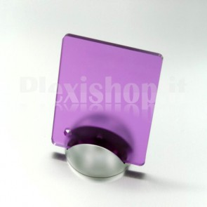 Purple Satin Plexiglass