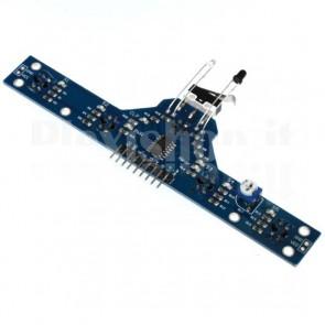 Modulo con sensori di prossimità a infrarossi a 5 canali TCRT5000