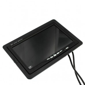 "Monitor 7"" LCD ingressi VGA e AV"