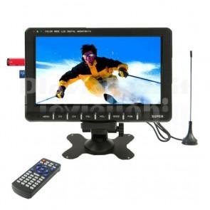 Monitor LCD 9,8 Pollici