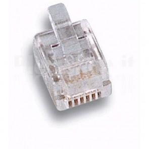 Plug Telefonico 6 poli 6 contatti RJ12