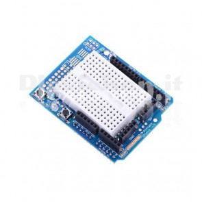 Prototype Shield ProtoShield v.5 con Mini Breadboard