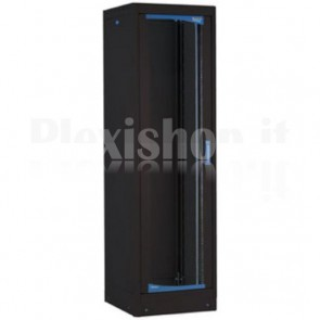 Armadio Rack 19'' 600x600 33 Unita' Nero