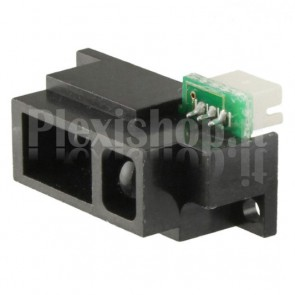 Sensore di misura della distanza a infrarossi Sharp GP2Y0A51SK0F, per misure precise della distanza da 2 a 15cm.