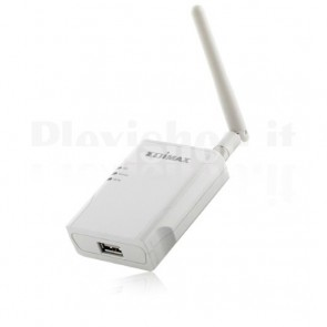Print server Multifunzione USB wireless 802.11b/g/n, PS-1210MFn