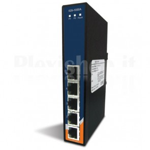 Unmanaged Ethernet Switch Gigabit 5 porte 10/100/1000Base-T(X) Slim