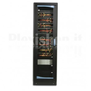 "Armadio Rack 19"" 600x800 33 Unita' Nero"