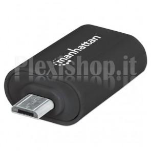 Adattatore USB 2.0 OTG Micro USB per Smartphone e Tablet