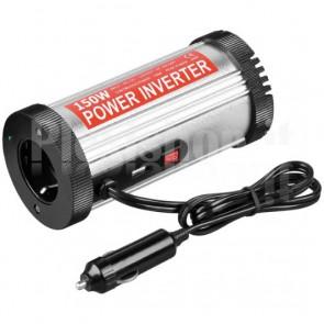 Alimentatore da Auto DC/AC 150W da 12V a 230V con porta USB