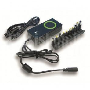 Alimentatore Universale AC per Notebook e LCD 90W con porta USB