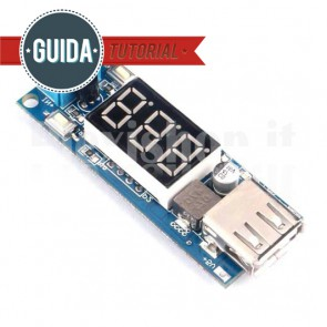 Convertitore di tensione DC-DC Step-Up 5V USB
