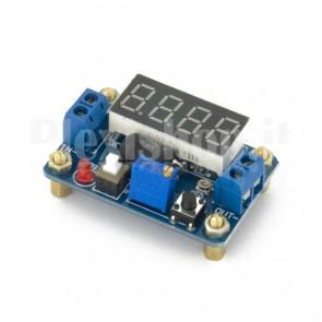 Alimentatore con voltmetro digitale