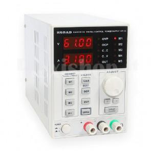 Alimentatore variabile programmabile KA6003D
