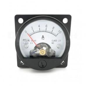 Amperometro Analogico da Pannello 0-10A CA