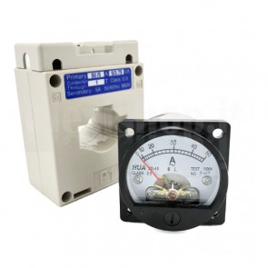 Amperometro Analogico da Pannello 0-50A CA