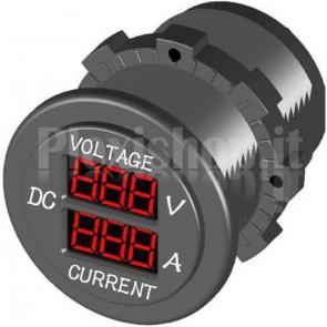 Amperometro Voltometro Digitale - Serie Modulare DC