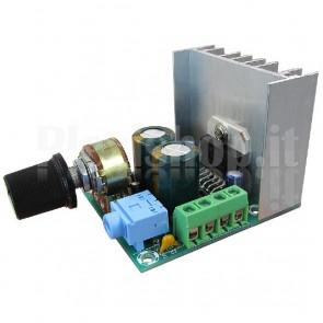 Amplificatore audio stereo 15+15W, TDA7297