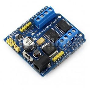 Arduino Shield driver motori 4ch/2ch, L293D