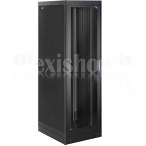Armadio Server Rack 19'' 600x1000 42U Nero Serie Lite Porta Grigliata