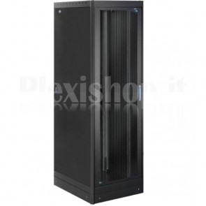 Armadio Server Rack 19'' 600x1200 42U Nero Serie Lite Porta Grigliata