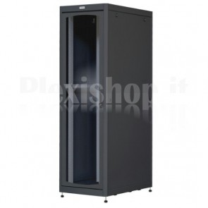 Armadio Server Rack 19'' 800x1200 42U Nero Porta Grigliata