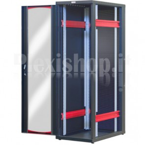 Armadio Server Rack 19'' 600x1000 42 Unità Nero serie IdealNET