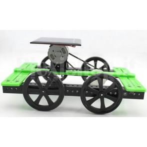 Automobile a energia solare con trasmissione a cinghia