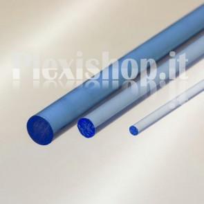 Blue Fluorescent Rod Ø 20 mm