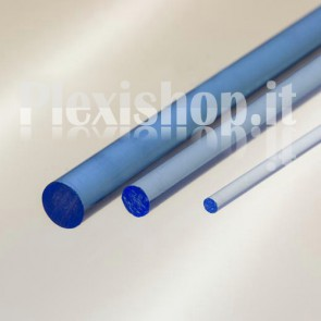 Blue Fluorescent Rod Ø 40 mm