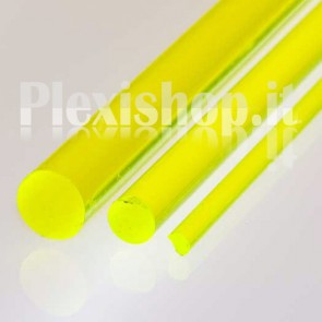 Yellow FLuorescent Rod Ø 10 mm