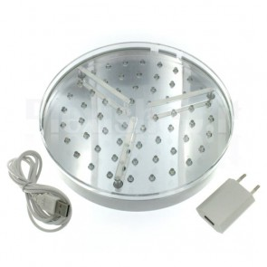 Base luminosa a Led BIANCO - 200mm