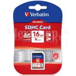 SecureDigital SDHC classe 10 Verbatim 16 GB