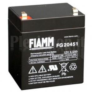 Batteria al Piombo 12V 4,5Ah (Faston 4,8mm)