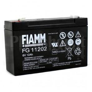 Batteria al Piombo 6V 12Ah (Faston 6,3mm)