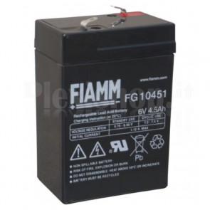 Batteria al Piombo 6V 4,5Ah (Faston 4,8mm)
