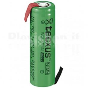 Batteria Ni-Mh AA 2100 mAh da saldare FT-1Z