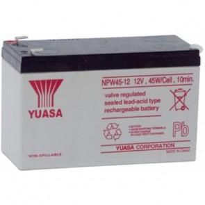 Batteria Piombo-Acido per UPS 12V 8,5Ah, NPW45-12 (Faston 250 6,30 mm)