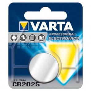Batteria a bottone Litio CR2025 (blister 1 pz)