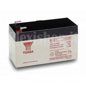 Batteria Piombo-Acido per UPS 12 V 1,2 Ah, NP1.2-12