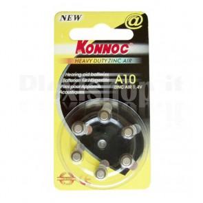 Batterie a bottone (PR10, DA230, 10AE) 6pz