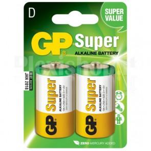 Blister 2 Batterie Ricaricabili Mezza Torcia C 2200mAh 1,2V
