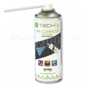 Bomboletta Spray Aria Compressa per Pulizia 400ml Non Infiammabile