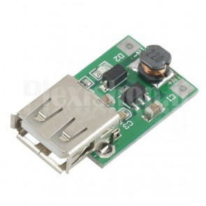 Booster switching DC-DC 0.9-5V USB, 600mA