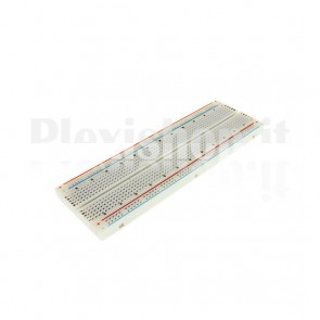 Breadboard 165x55mm 830 fori