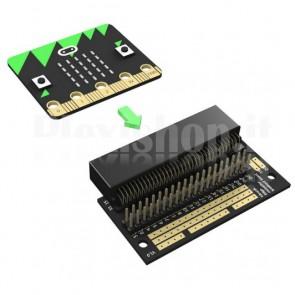 Breakout Board per BBC Micro:Bit con Pin Angolari